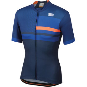 Sportful Team 2.0 Drift Jersey Men Twilight Blue/Blue Cosmic/Orange SDR